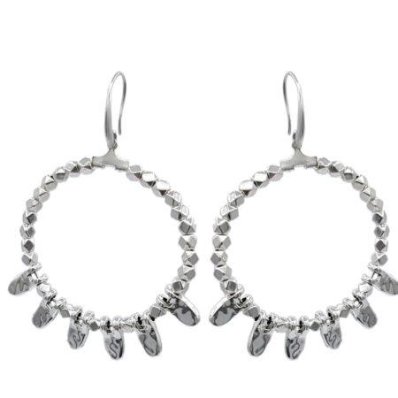 Dames oorbellen | Marokkaanse sieraden | Oosters sieraad | Verzilverde oorbellen