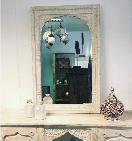 Arabische spiegel | Oosterse meubelen | Whitewash | Oosters interieur | Amsterdam | Kalini