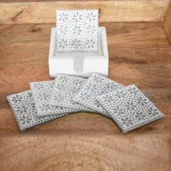 Oosterse onderzetters | Handgemaakt | Glasmozaiek | Transparant | Marokkaans interieur
