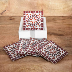 Oosterse onderzetters | Mozaiek | Marokkaanse onderzetter | Oosters interieur