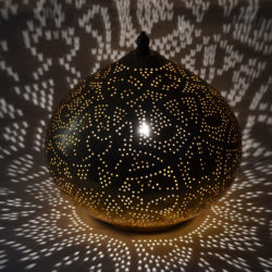 Oosterse tafellamp | Vintage goud | Arabische lamp | Marokkaanse tafellamp