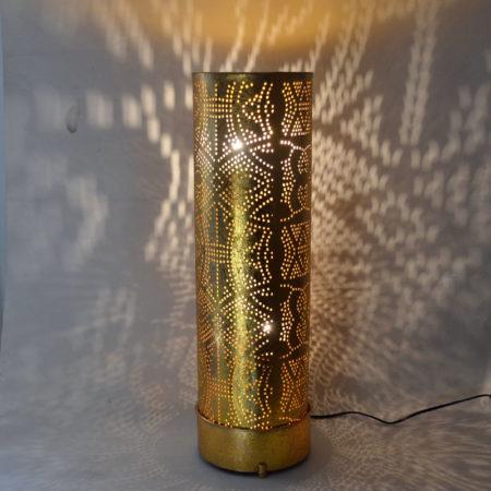 Oosterse lamp | Goud | Marokkaanse lampen | staande lamp | Oosters interieur