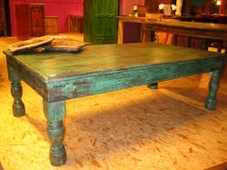 Oosterse salontafel | India meubels | Oosters meubel | Tafels | Kasten | Kalini | Antieke Oosterse tafels | Houten coffee table