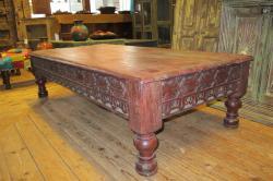 Oosterse salontafel   India meubelen   Antieke tafels   Kalini   Amstelveen