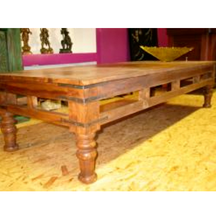 Oosterse salontafel | Takat table | India meubelen | Oosters interieur | Antieke salontafels