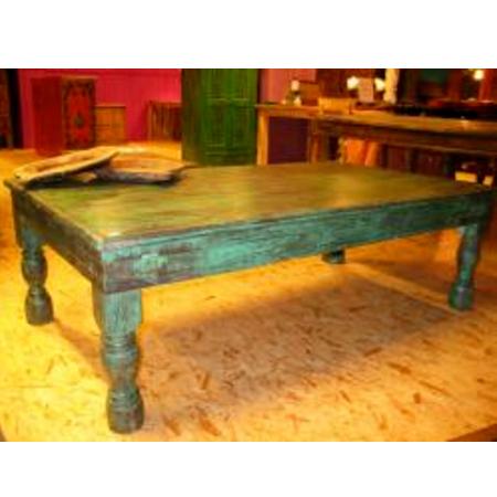 Oosterse salontafel | Takat Table | Unieke India salontafel | Oosterse meubel | Houten salontafel | Teak | Kalini | Amsterdam | Eigen import