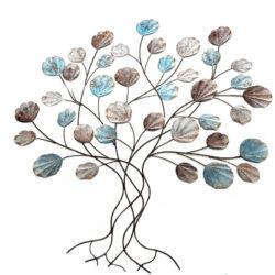 Oosterse wanddecoratie | tree of life | Metaal | 3D | Slaapkamer decoratie | Oosters interieur | Metalen wanddecoratie | Oosterse inrichting