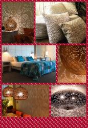 Oosterse lampen | Kerst dagen | Patchwork kussens | Waxinehouders | Marokkaanse lampen