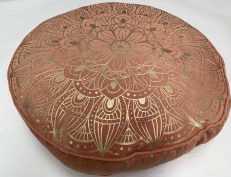 Oosters vloerkussen | Oud roze | Lotus | Marokkaanse kussens | Oosterse poefen | Loungekussens