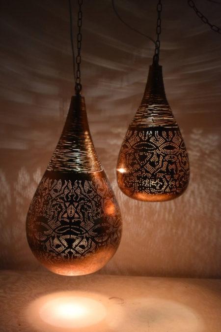Oosterse lampen | Filigrain hanglamp | Marokkaanse lampen | Moderne Oosterse sfeerverlichting