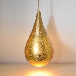 Oosterse hanglamp | filigrain | Druppelvormig | Marokkaanse lamp | Oosters interieur