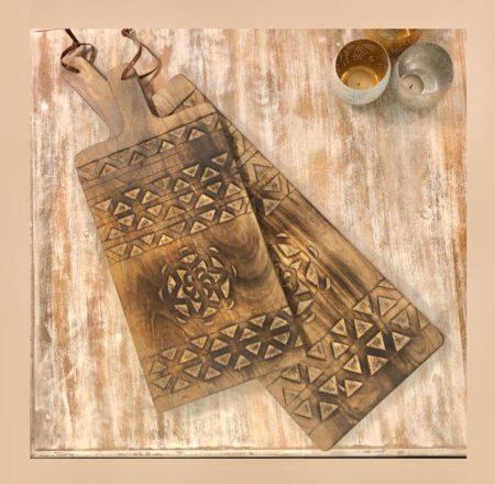 Sierlijke Tapas plank   Oosterse accessoires   Oosters interieur   Echt hout   Nieuw in de collectie   Leuk voor op tafel