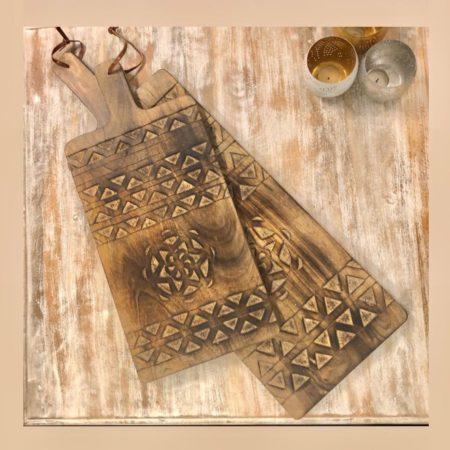 Sierlijke Tapas plank | Oosterse accessoires | Oosters interieur | Echt hout | Nieuw in de collectie | Leuk voor op tafel