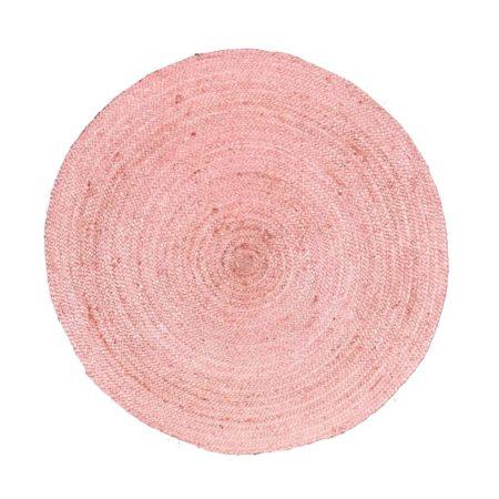 Oosters vloerkleed pastel roze | Handgemaakt | Gevlochten | Stevige vloerkleden nu nieuw in de collectie bij Kalini | Oosterse vloerkleden moderne kleuren en designs
