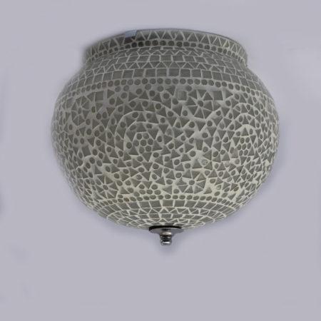 Oosterse plafondlamp | Glasmozaïek | Oosterse lamp | Plafonnière | Marokkaanse lampen | Geschikt voor vochtige ruimtes | Mozaïek plafondlamp |