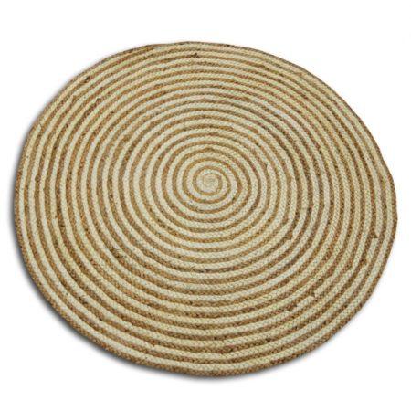 Oosterse vloerkleden | rond | Concentrisch design | 150 cm | Rond vloerkleed | Oosters tapijt | Oosterse inrichting | Kalini | Scherpe prijzen & snelle levering