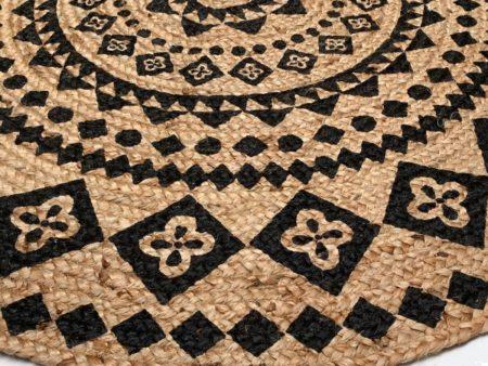 Oosters vloerkleed | Arabische tapijten | Oosters interieur | Kalini | Mandala vloerkleed | Rond | Handgemaakt | Scherpe prijzen