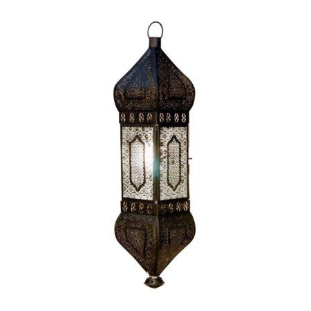 Oosterse hanglamp | Mysore | Arabische hanglamp | mat zwart | Oosterse lampen | Marokkaanse lamp | Kalini