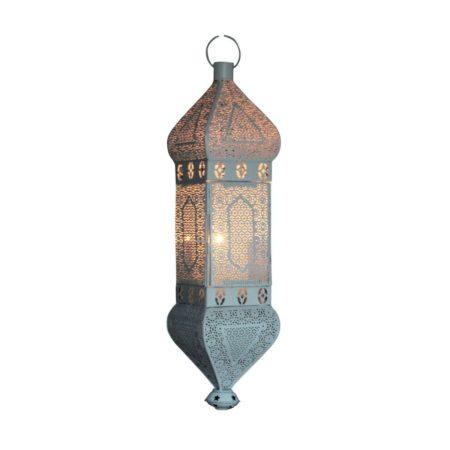 Oosterse hanglamp | Gebroken wit | Marokkaanse lampen | Arabische verlichting | Oosters interieur | Kalini | Oosterse lamp online