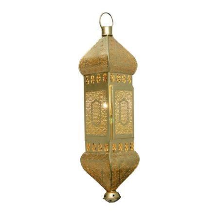 Oosterse hanglamp | Marokkaanse lampen | Arabische lamp | Goud | Hanglampen | Oosters interieur | Kalini | Scherpe prijzen & Snelle levering