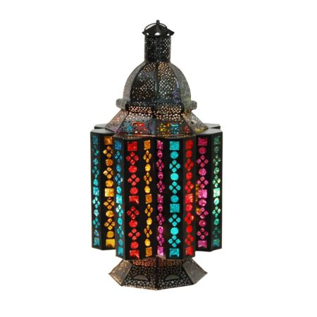 Oosterse tafellamp | Oriental | Gekleurd glas | Sfeervolle Oosterse tafellamp | Arabische lamp | Oosters interieur | Kleurrijke Oosterse tafellampen | Kalini | Handgemaakt | Scherpe prijzen, snelle levering