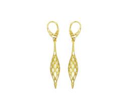 Hippe oorbellen | Taboo sieraden | Kalini | Filigrain oorbellen | Oorhangers voor haar | Handgemaakt | Unieke sieraden
