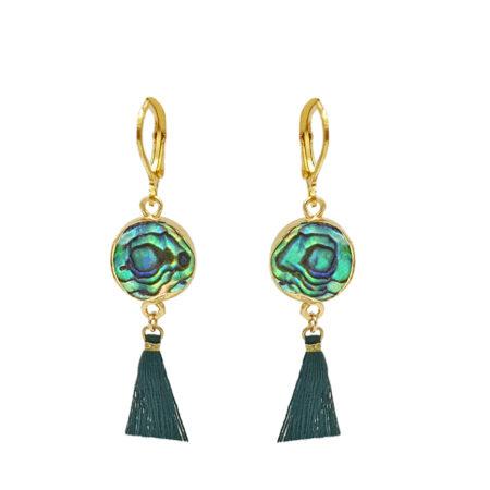 Oorbellen | Kalini | Bibi | Gold | Mooie handgemaakte sieraden | Oosterse sieraden nu bij Kalini
