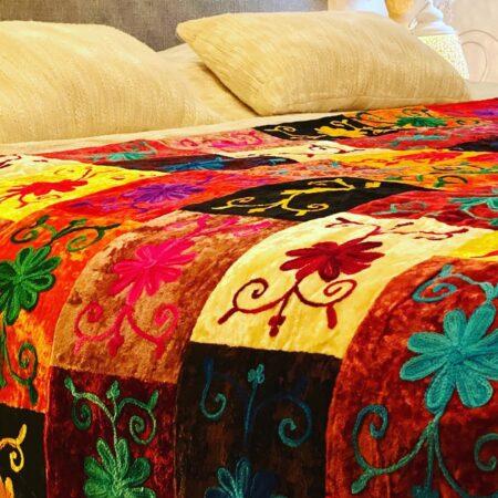 Oosterse beddensprei Sundar | Bed-Spread | Sundar | Handgemaakte spreien | Kalini