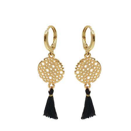 Prachtige Oosterse sieraden bij Kalini | Oorhangers handgemaakt van unieke materialen | Mooie oorbellen met sierlijke kwastjes | scherpe prijzen snelle levering