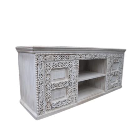 Oosters tv meubel | Kalini | Yohara lijn | Houtsnijwerk | Marokkaanse meubels | Arabisch interieur | Oosterse inrichting | Oosters meubel